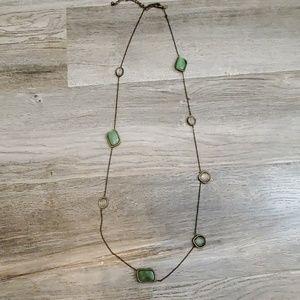 Jade multi-stone necklace